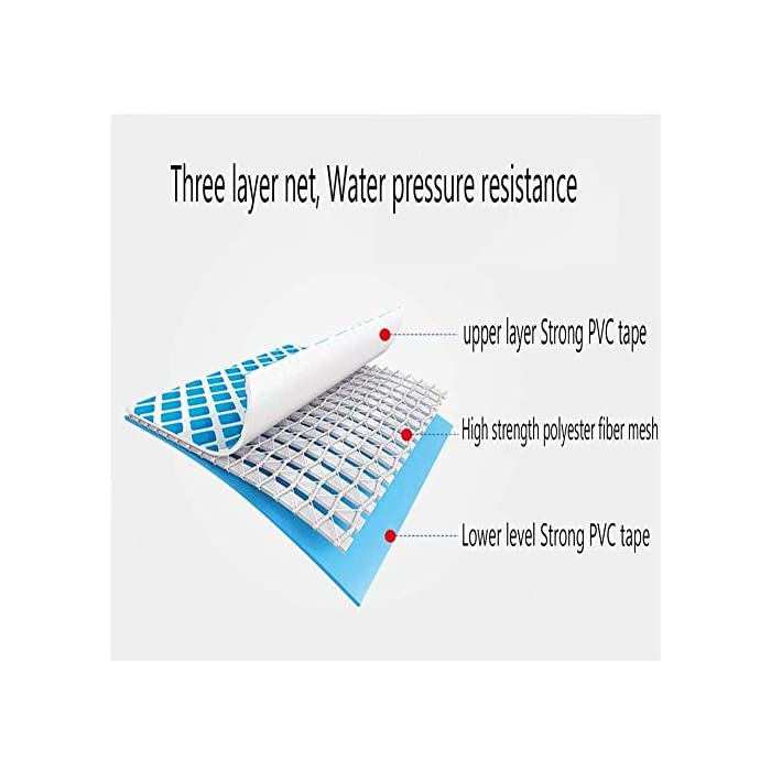 51lmzar6rtL MATERIAL: diseño de malla compuesta de 3 capas, tela de goma de PVC resistente más malla de fibra de poliéster, resistente, resistente al sol, no es fácil de dañar, a prueba de fugas, larga vida, se puede utilizar en varias estaciones. TAMAÑO: La capacidad de almacenamiento de agua es de 1250L, tarda aproximadamente 30 minutos en llenar el 90%, nuestro embalaje está equipado con una bomba de filtro de 330 galones. FÁCIL DE USAR: la piscina portátil es fácil de construir, fácil de plegar, transportar y no ocupa espacio. Después de su uso, puede almacenarla para su uso en la próxima temporada.