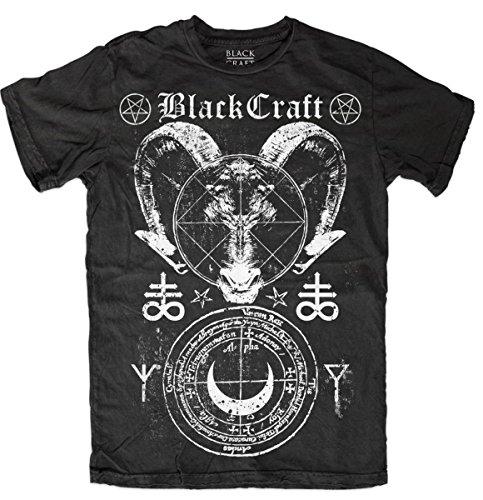 T Shirt Mens   Leviathan   Black Craft   Mt118lv Xl