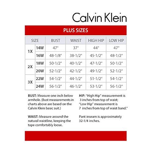 Calvin Manica Donne Spostamento Klein Luccicante Il 4 Nero Girocollo Maglia Vestito 3 Formato Delle Più Ur8OnzU