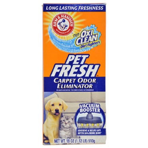 Arm & Hammer Pet Fresh Carpet Odor Eliminator, 18-oz. Boxes - 12 per order