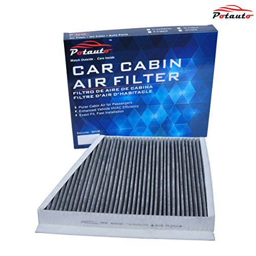 POTAUTO MAP 4005C Heavy Activated Carbon Car Cabin Air Filter Replacement compatible with MERCEDES, CLS Class, E Class