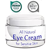 Eye Cream for Wrinkles with Retinol - Anti Wrinkle Anti Aging Cream - Sensitive Skin Moisturizer - Brightening Cream for Men and Women - Skin Firming Lotion - Natural Under Eye Cream for Dark Circles