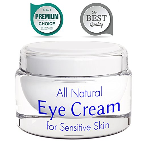 Eye Cream for Wrinkles with Retinol - Anti Wrinkle Anti Aging Cream - Sensitive Skin Moisturizer - Brightening Cream for Men and Women - Skin Firming Lotion - Natural Under Eye Cream for Dark Circles