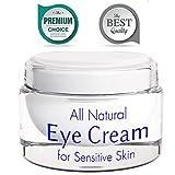 Best Antiwrinkle Eye Cream Eye Cream for Wrinkles with Retinol - Anti Wrinkle Anti Aging Cream - Sensitive Skin Moisturizer - Brightening Cream for Men and Women - Skin Firming Lotion - Natural Under Eye Cream for Dark Circles