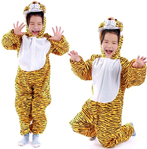 Children Party Costume Cartoon Animal Costume Funny Clothes Performance Kids Cosplay Costume (M(Height 35.4