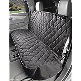 4Knines Regular Fitted Rear Bench Seat Non-Slip Cover (Regular, Black)