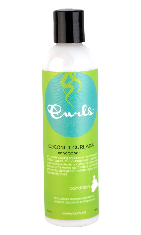 Curls Coconut Curlada Conditioner, 8 Ounce