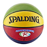 Spalding NBA Rookie Gear Kids Composite Indoor/Outdoor Multicolored Basketball