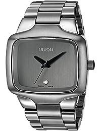 Nixon Men's A352-131-00 Player Automatic Analog Display Swi SS Automatic Grey Watch