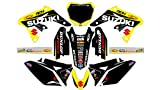 AM 163 SUZUKI RMZ 250 2010-2016 DECALS STICKERS GRAPHICS KIT