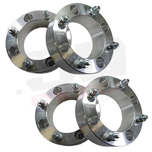 Set of Four (4) Wheel Spacers - 4x137 - 2 inch thick - 10x1.25mm Studs - Fit Can-am Commander / Maverick UTVs [5217]
