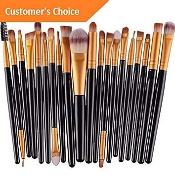 db0b3fc36bd1 Amazon.com: Kaputar 10pcs Professional Makeup Brushes Set Cosmetic ...