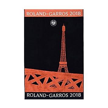 Toalla jugador Roland Garros 2018 - Marina, azul, Talla única: Amazon.es: Hogar