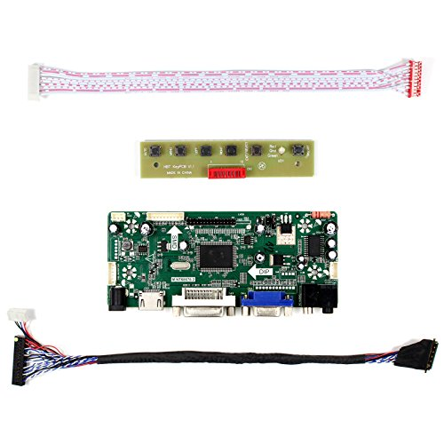 HDMI+VGA+DVI+Audio Input LCD Controller Board For LP173WD1 N173FGE 15.6'' 17.3'' 1600x900 LED Backlight 40Pins LCD Panel by LCDBOARD (Image #3)