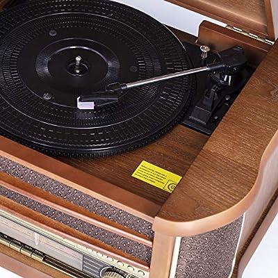 Camry CR-1111 Tocadiscos con Radio y Funcion grabacion. con CD/MP3 ...