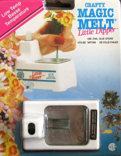 Crafty Magic Melt Little Dipper Low Temp Glue Pot by Crafty