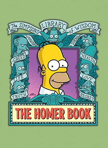 The Homer Book (Simpsons Library of - Simpson Homer Life