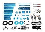 advanced robot kit - Makeblock Advanced Robot Kit-Blue (No Electronics)