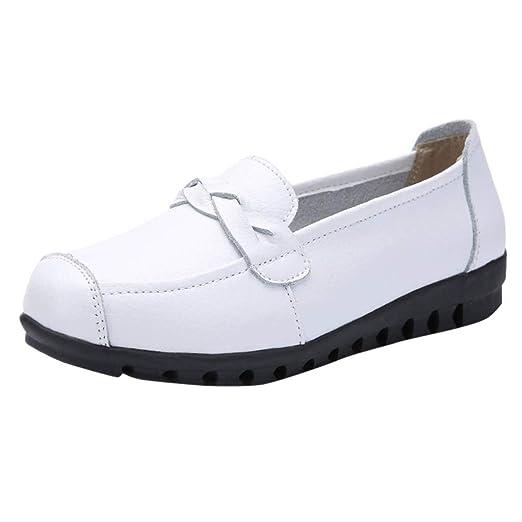 LILICAT✈✈ Zapatos de tacón con Punta Cerrada para Mujer Salones de Ante con  Tacón be34f39e889c