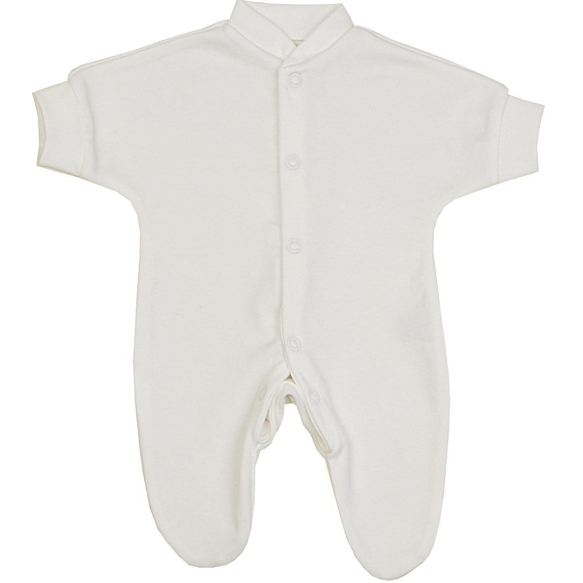 BabyPrem Bebé Prematuro Pijama Mameluco Ropa de Algodón Niñas Niños Unisexo 0-28cm BLANCO: Amazon.es: Ropa y accesorios