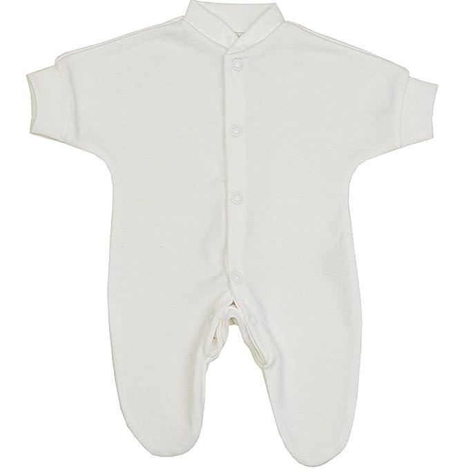 541051c61 BabyPrem Bebé Prematuro Pijama Mameluco Ropa de Algodón Niñas Niños Unisexo  0-28cm BLANCO