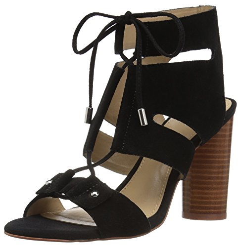 The Fix Women's Page Block Heel Ghillie Dress Sandal