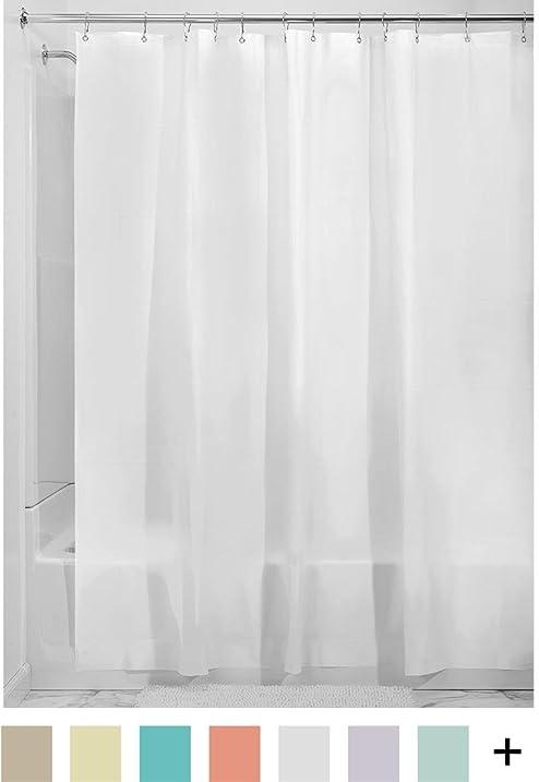 Amazon.com: InterDesign Mildew-Free EVA 5.5 Gauge Shower Liner, X ...