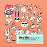 : Doodle  Coloring Book: Adult Coloring Books.Doodle Book. Great Gift for Boys and Girls