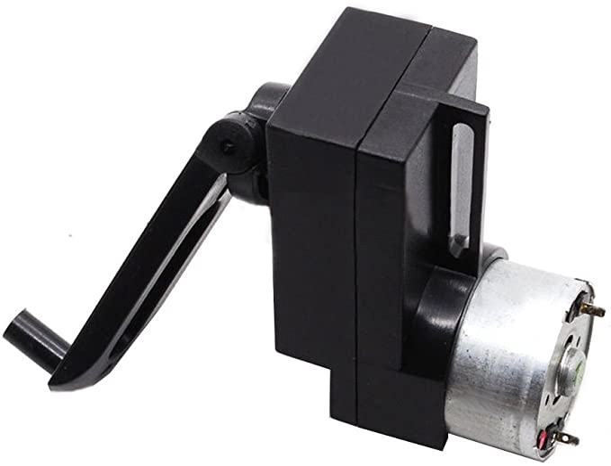 Qianson 4W Hand Crank DC Power Generator