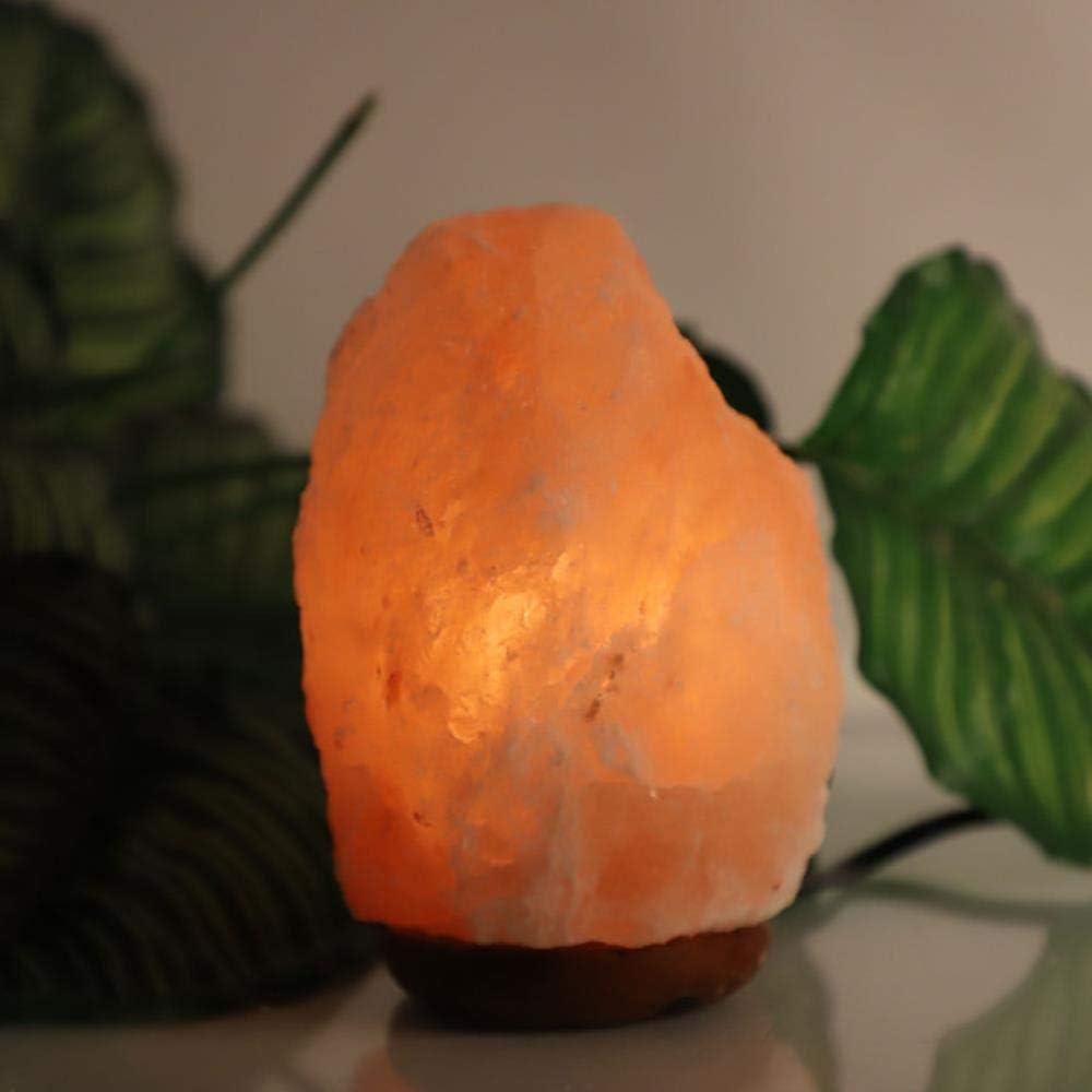 Lámpara de sal de cristal Purificador de aire del Himalaya Luz de ...