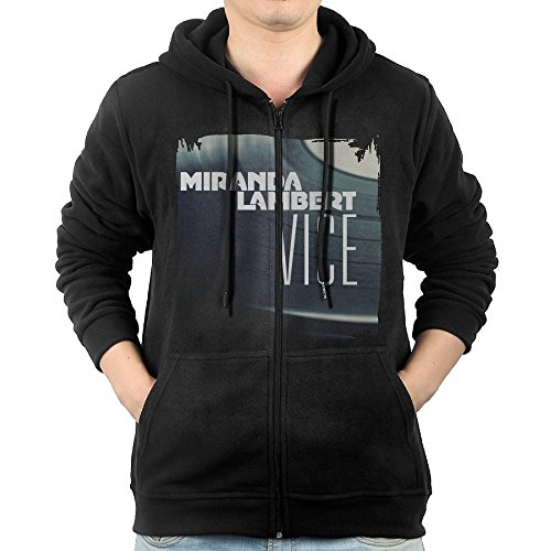 Miranda Lambert Vice 2016 Zip Up Hoodie Men Design