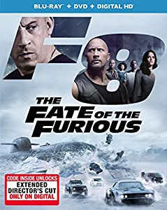 Cover Image for 'The Fate of the Furious [Blu-ray + DVD + Digital HD]'