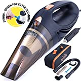 High-Power and Portable Car Vacuum Cleaner - make every inch of your auto...