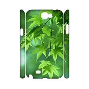 Maple Leaf 3D-Printed ZLB572771 Unique Design 3D Phone Case for Samsung Galaxy Note 2 N7100