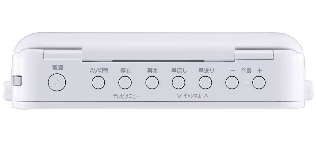 TWINBIRD Water proof DVD Player for bath and kitchen!! VD-J719W ZABADY From import JPN