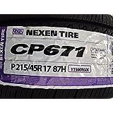 Nexen CP671 H All-Season Radial Tire - P215/45R17