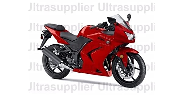 Amazon.com: FocusAtOne Candy Red Complete Fairing Bodywork ...