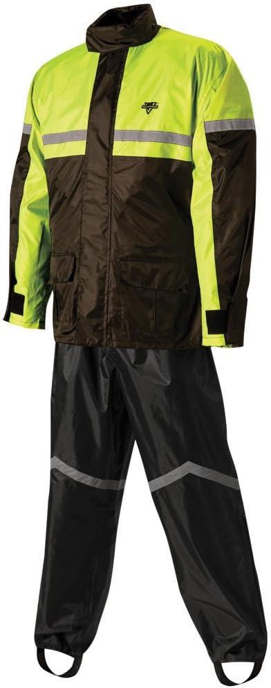XL Nelson-Rigg unisex-adult SR-6000-ORG-04-XL Stormrider Motorcycle Rain Suit 2-Piece Black//Orange, X-Large