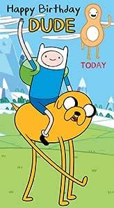 Adventure Time - Tarjeta de felicitación para cumpleaños (8 ...