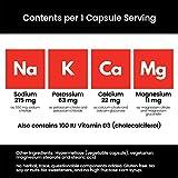 SaltStick Caps, Bottle of 100 Electrolyte