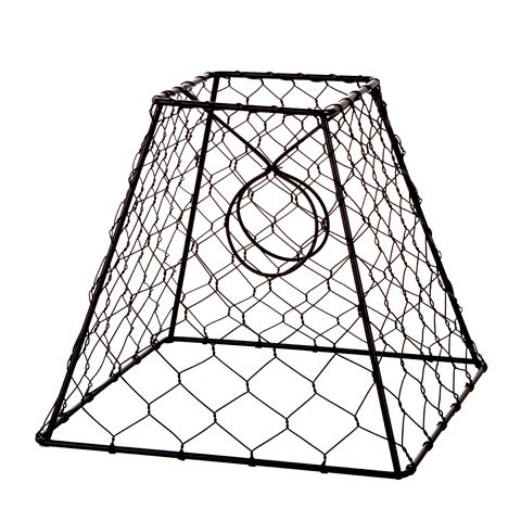 Price comparison product image Darice 30009024 Clip-on Chicken Wire Lamp Shade