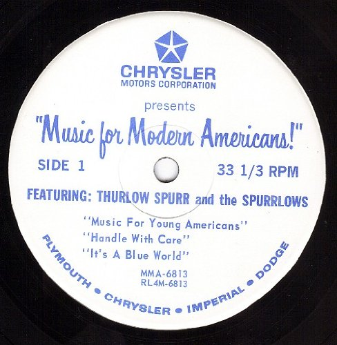 Music For Young Americans/Handle With Care/It's A Blue World/Music Comes A Knockin/Hello Dolly (VG++ 33 1/3 7