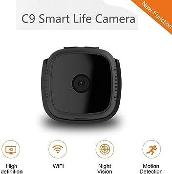 Mini cámaras Ocultas bebé casa Seguridad WiFi IP cámara Control teléfono móvil/PC Tablet Ordenador/PC/TV Noche visión HD 720P DVR Smart Life cámara nuevos Gadgets, Negro: Amazon.es: Electrónica