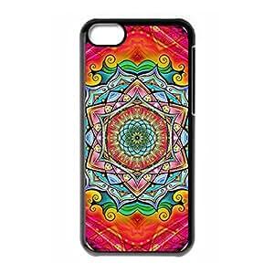 Mysterious Mandala logo for iPhone 5C hard back case