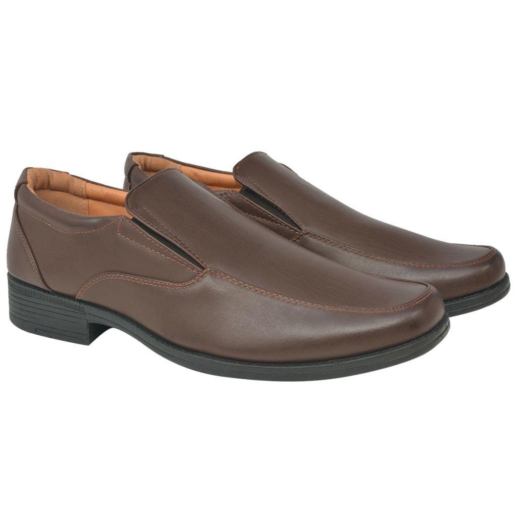 vidaXL Botas/Zapatos/Mocasines de Vestir/Zapatos de Vestir Negocios para Hombre Camel/Negros/Marrón Talla 40-45: Amazon.es: Zapatos y complementos