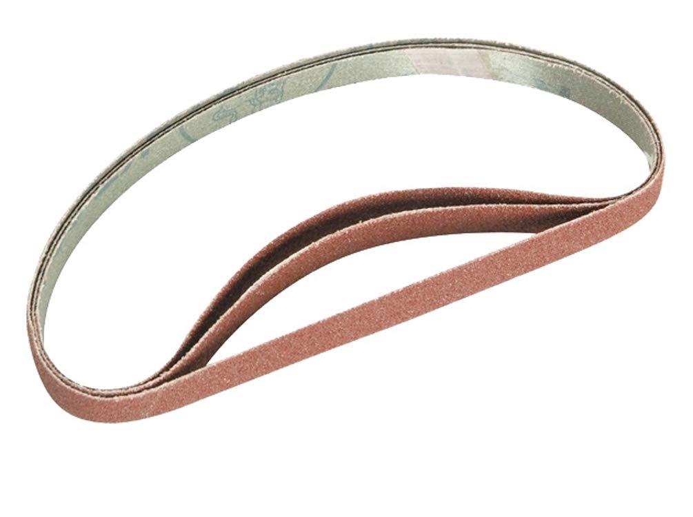 Evolution Power Tools File Sander Belts 80 Grit Pack of 3