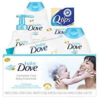 Baby Dove Complete Care Bath Time Essentials, Gift Set 6 pc