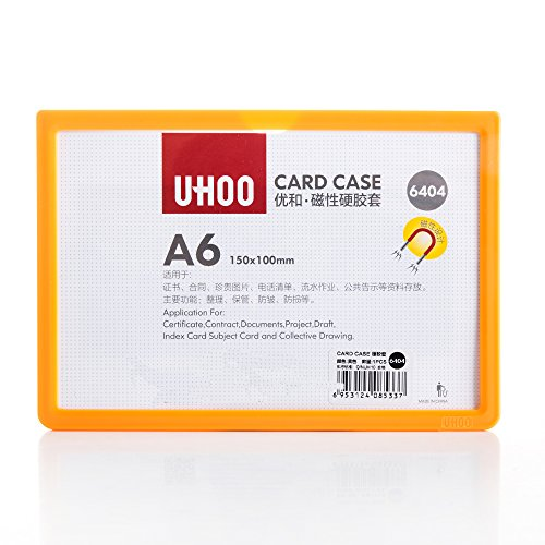 UHOO Magnet Plus Magnetic Sign and Certificate Holder, multicoloured Frame
