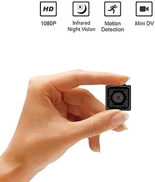 1080P HD Mini Hidden SPY Camera Motion Detection Video Recorder Nanny Cam
