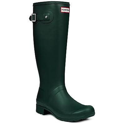 Hunter Original Adjustable Damen Fest Gummistiefel Wellington Boots - Dunkelgrün - 36 ncacNBf
